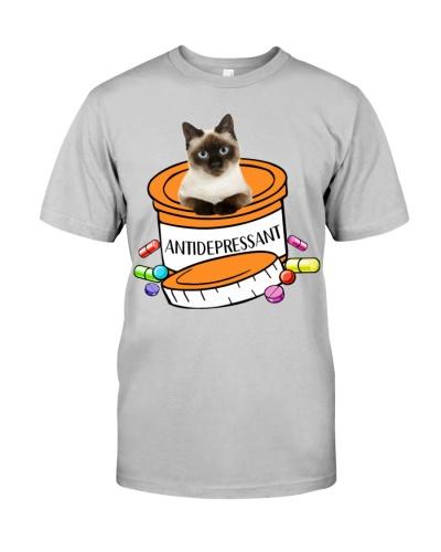 Siamese Cat Antidepressant