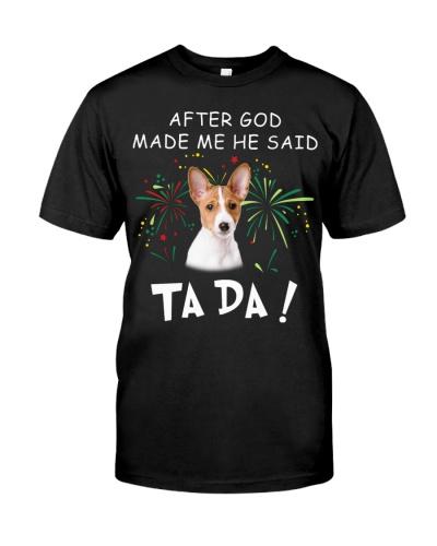 Basenji-God Said Ta Da