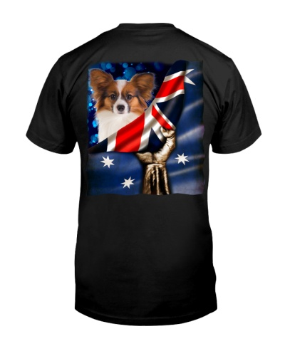 Flag of Australia-Papillon