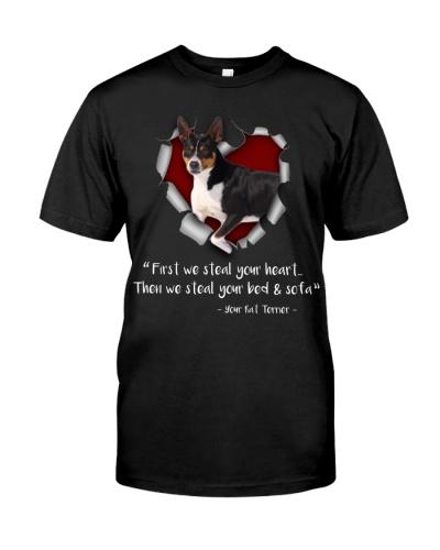 Rat Terrier-Torn Paper Heart