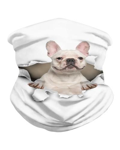 French Bulldog 3 Torn Paper BDN