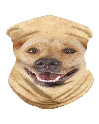 Labrador Retriever Face 3D BDN