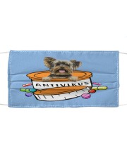 Yorkshire Terrier-Antivirus-Face Cloth face mask front