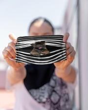 Akita Stripes FM Cloth face mask aos-face-mask-lifestyle-07