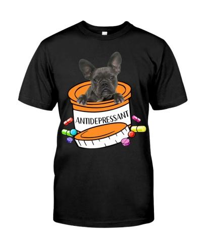 French Bulldog-Blue-Antidepressant
