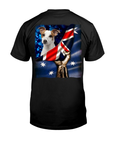 Flag of Australia-Jack Russell Terrier