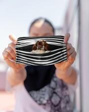 Bracco Italiano Stripes FM Cloth face mask aos-face-mask-lifestyle-07