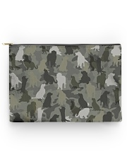 Golden Retriever-camouflage Accessory Pouch - Large thumbnail