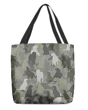 Golden Retriever-camouflage All-over Tote thumbnail