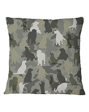 Golden Retriever-camouflage Square Pillowcase thumbnail