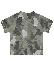 Golden Retriever-camouflage All-over T-Shirt back