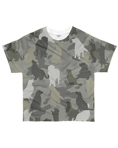 Golden Retriever-camouflage