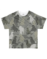 Golden Retriever-camouflage All-over T-Shirt front