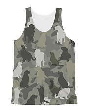 Golden Retriever-camouflage All-over Unisex Tank thumbnail