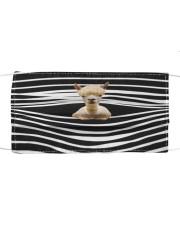 Alpaca Stripes FM Cloth face mask front