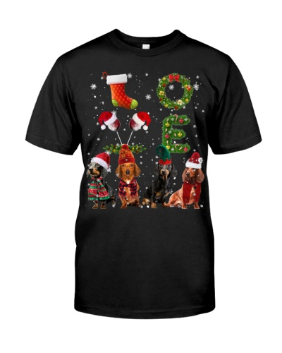 Dachshund-Christmas-Love