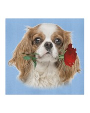 Cavalier King Charles Spaniel Rose FM Cloth face mask aos-face-mask-coverlet-lifestyle-front-02
