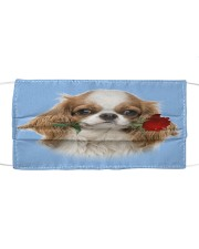 Cavalier King Charles Spaniel Rose FM Cloth face mask front