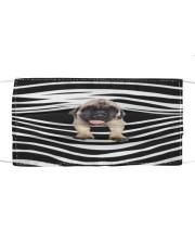 English Mastiff Stripes FM Cloth face mask front