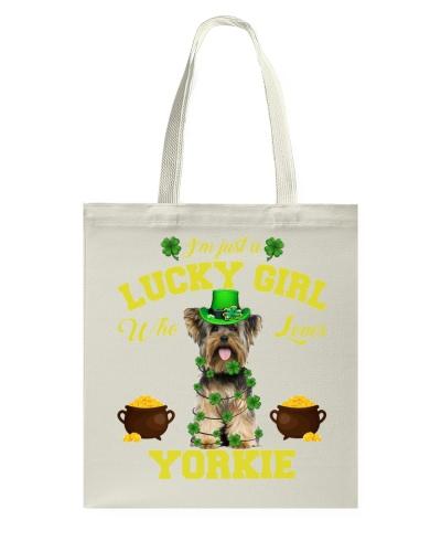 Lucky Girl Loves Yorkie