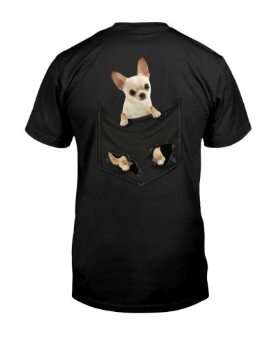 Chihuahua Back Pocket