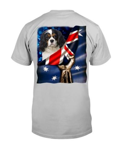 Flag of Australia-Cavalier King Charles Spaniel-1