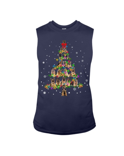 German Shepherd - Christmas Tree