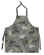 Boston Terrier-camouflage Apron thumbnail