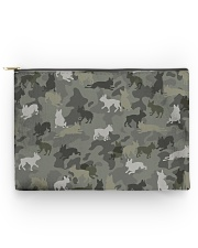 Boston Terrier-camouflage Accessory Pouch - Large thumbnail