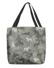 Boston Terrier-camouflage All-over Tote thumbnail