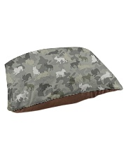 Boston Terrier-camouflage Pet Bed - Small thumbnail