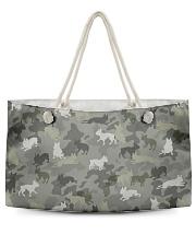 Boston Terrier-camouflage Weekender Tote thumbnail
