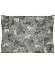"""Boston Terrier-camouflage Wall Tapestry - 36"""" x 26"""" thumbnail"""