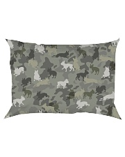 Boston Terrier-camouflage Rectangular Pillowcase thumbnail
