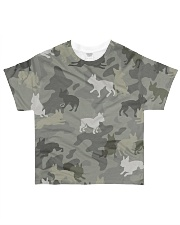 Boston Terrier-camouflage All-over T-Shirt front