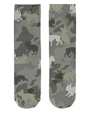 Boston Terrier-camouflage Crew Length Socks thumbnail
