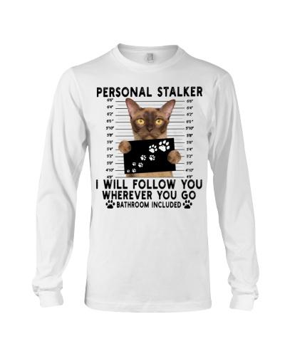 Personal Stalker Burmese Cat