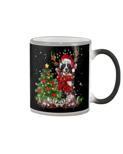 Bernese Mountain-Reindeer-Christmas