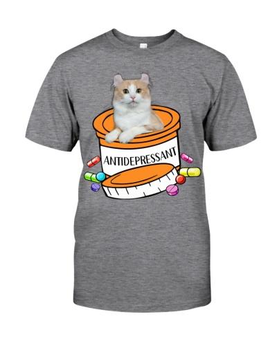 American Curl Cat Antidepressant