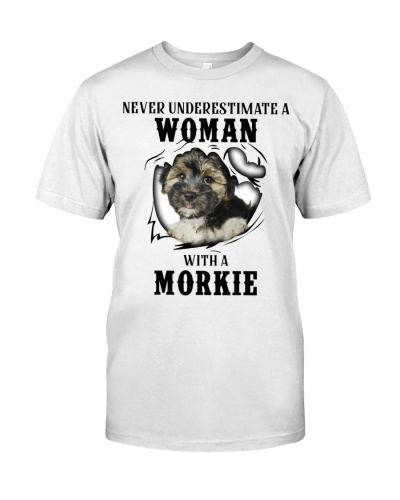 Woman With A Morkie