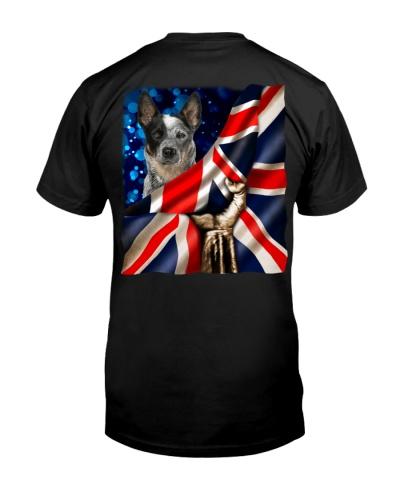 Australian Cattle-The Union Jack