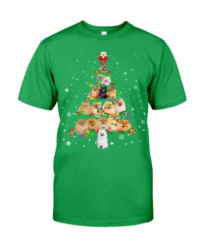 Pomeranian - Christmas Tree
