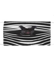 Skye Terrier Stripes FM Cloth face mask front