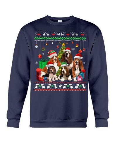 Basset Hounds-Christmas Gift