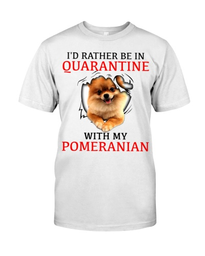 Quarantine With My Pomeranian