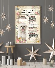 Maltese -CS375-House Rules 11x17 Poster lifestyle-holiday-poster-1