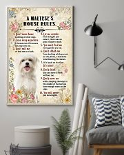 Maltese -CS375-House Rules 11x17 Poster lifestyle-poster-1
