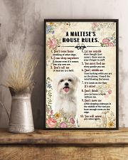 Maltese -CS375-House Rules 11x17 Poster lifestyle-poster-3