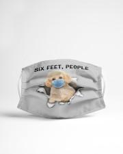 Poodle Crossbreed 2 Six Feet People FM Cloth face mask aos-face-mask-lifestyle-22