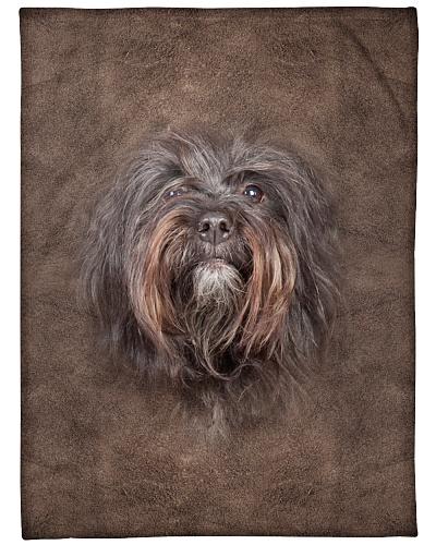 Tibetan Terrier Face 3D